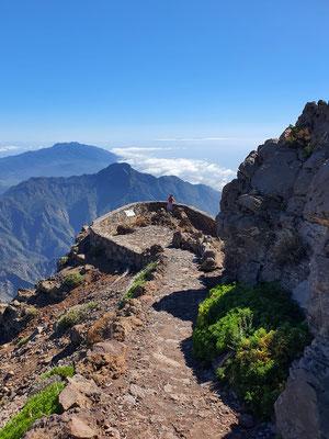 Roque de los Muchachos Höhe 2426 m