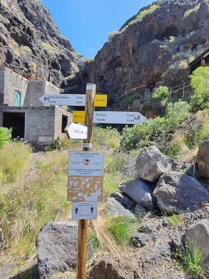 Wanderung zur Schmugglerbucht Poris de Candelaria