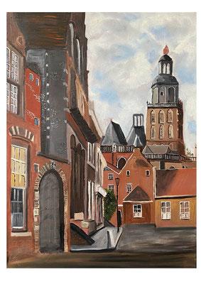 Zutphen, 60x90 cm