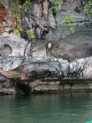 Phang Nga, Felsenmalerei