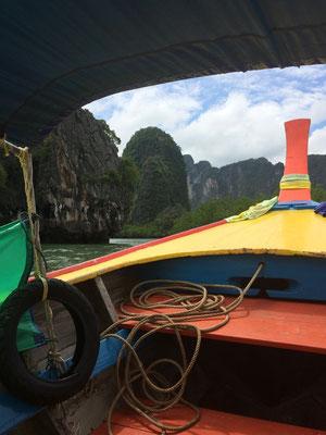 Phang Nga, Bootstour