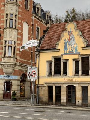 Weg zur Dresdner Standseilbahn