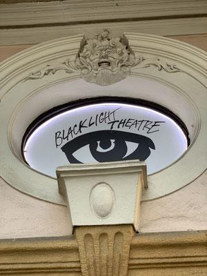 Black Light Theatre in Prag