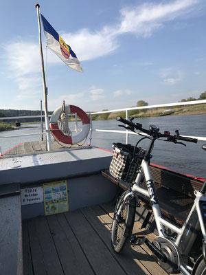 Weserfähre Eulenkrug, Fürstenberg/Weser