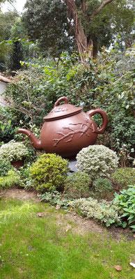 Eingang zum Teemuseum