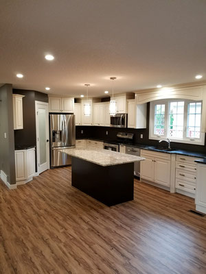 Home renovation kitchen remodel