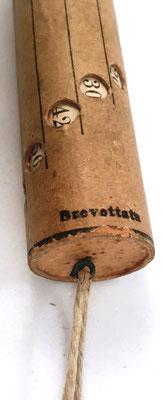 """Detalle del cilindro """"Brevettata"""""""