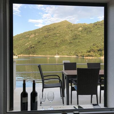 invited at Josip's weekend house in Okuklje on Mljet
