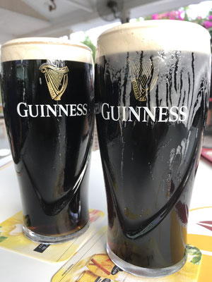 with draught guiness