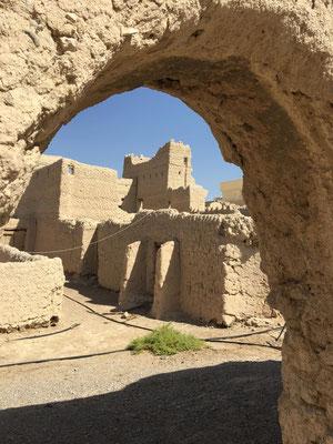 Ruinen im Stadtkern
