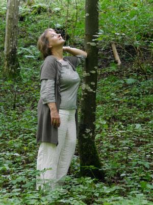 Regine am Baum by MH