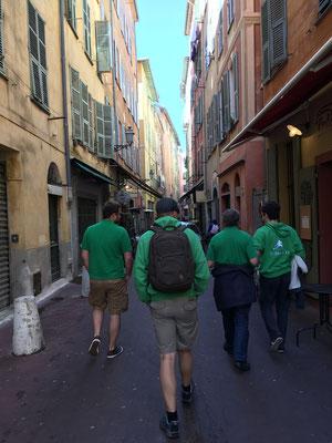 Unterwegs in Nizza