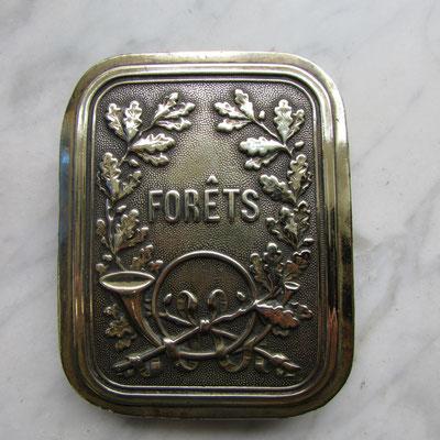plaque baudrier garde administration des forets  Prix : 120 euros  ref: cu08