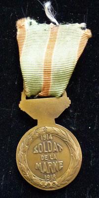 médaille de la marne  Prix : 55 euros