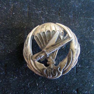 insigne 2°em bataillon de choc dos guilloché Drago paris nice sur la pastille , 43 Rue OM  Prix : 90 euros