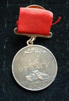 médaille du courage russe, numero 160638 Prix : 160 euros