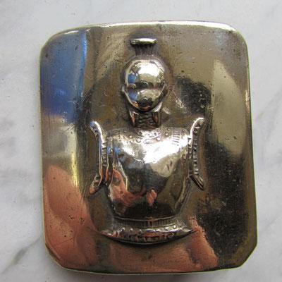 plaque sous officier  génie seconde empire III republique 55 x 64 mm prix : 45 euros ref : cu05