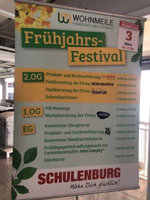 Frühlings-Festival in Halstenbek