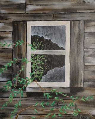 40 x 50 | verlassene Hütte
