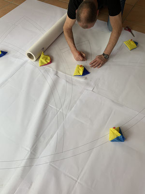 Die Schablonen werden anhand der Plots erstellt.