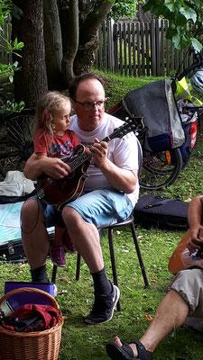 Picknick im Wicklow Garden, 17.07.2021