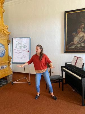 Bilder von der Studienwoche für Kirchenmusik 2020 in Vorau