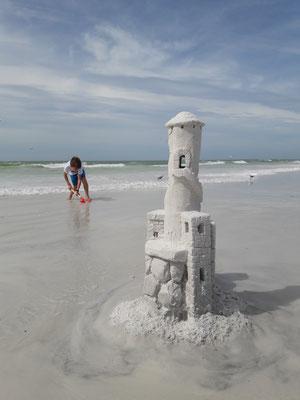 Siesta Key Sandcastle Sand Sculpting