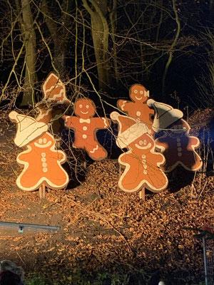 Weihnachtsdeko in Cuxhaven