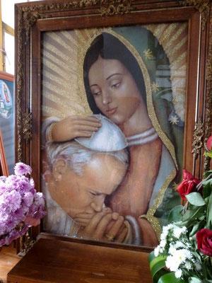 dans l'église de la Guadalupe
