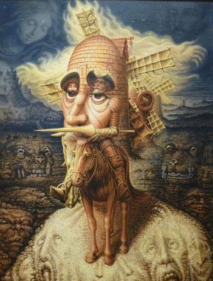 copie du Don Quichotte de Dali