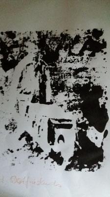 Torfjunge, 24x30, Testdruck