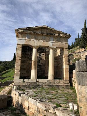Das Schatzhaus der Athener!