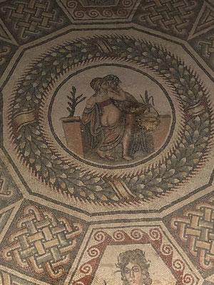 Traumhafte Mosaike ... Villa Romana del Casale