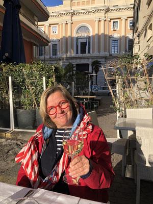 Salute ... Pizza und Sonne in Salerno