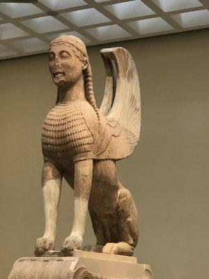 Die Sphinx der Naxier.