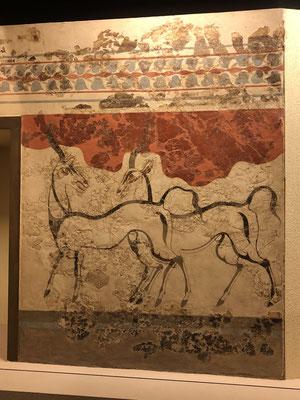 Diese Gazellen wurden vor 3.500 Jahre gemalt, unglaublich , das ist Modern Art... fantastisch.