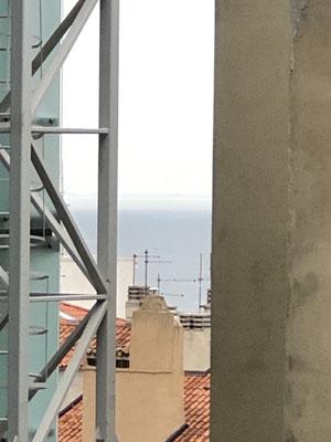 unsere kleine Aussicht aufs Meer