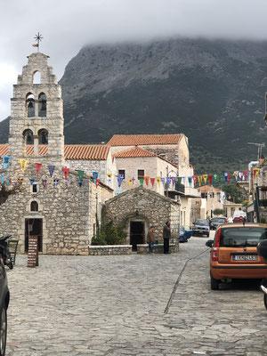 Das Kirchlein von Areopoli.