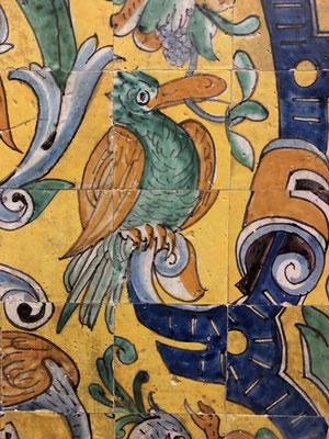Keramik im Alcazar ... Popart?