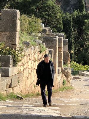 Gerd verzaubert, in anderen Sphären wandelnd.