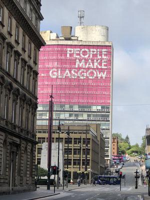 Glasgow ist eine tolle, lebendige und vielseitige Stadt.