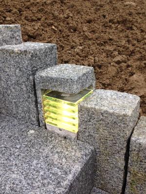 Réalisation sur mesure - escalier - granit