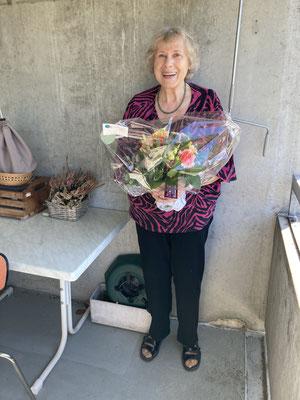 Bertha Kummer, 40 Jahre aktive Sängerjahre