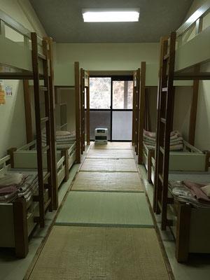 8人部屋「宿泊室1~6」