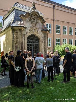 WGT 2019: Führung über den Johannisfriedhof