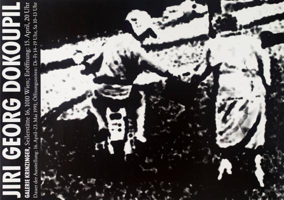 Jiri Georg Dokoupil Plakat Poster