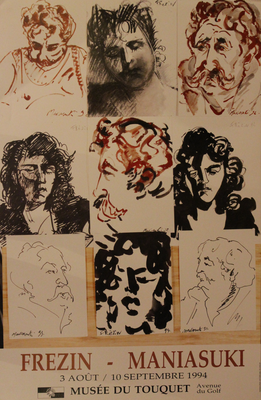 "Affiche ""Frézin - Maniasuki'"