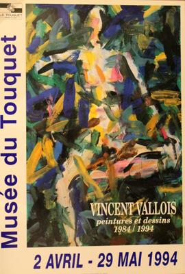 """Affiche """"Vincent Vallois"""""""