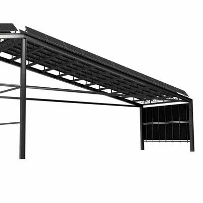 Solarfassadenelement
