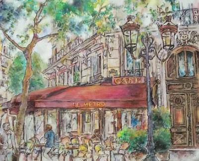 「巴里のカフェ」